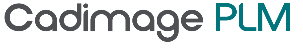 Cadimage PLM wordmark dark