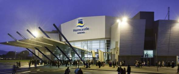 Horncastle Arena night shot 1